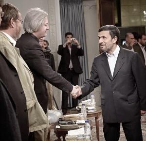 Jürgen Elsässer traf Ahmadinedschad