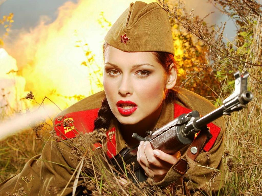 девушки в военной форме фото порно