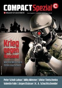 """COMPACT-Spezial Nr. 4: """"Krieg gegen Russland – Wie die NATO nach Osten marschiert"""""""