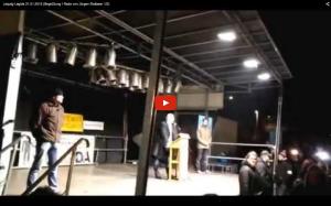 Screenshot des Videomitschnitts meiner Rede bei Legida, 21.1.2015
