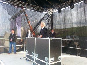 Wilders heute bei PEGIDA in Dresden