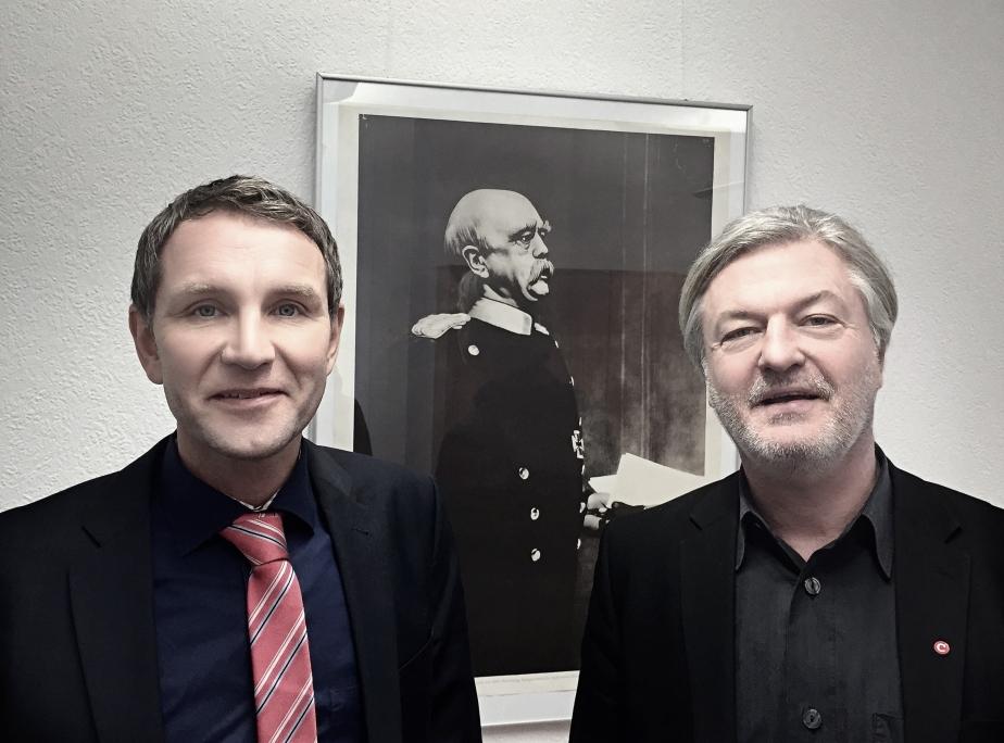 Höcke, Bismarck, Elsässer beim COMPACT-Interview (erschien in COMPACT-Magazin 2/2015).