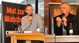 Bei der ersten gemeinsamen Diskussion in Dresden im April kamen 150 Besucher.