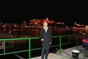 """Elsässer beim """"Staatsbesuch"""" am vergangenen Wochenende in Budapest. Foto: Sim"""